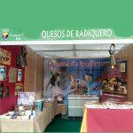 Quesos de Radiquero en la Feria de Trujillo