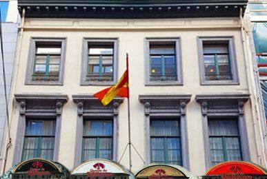 A Bruselas. Embajada Española