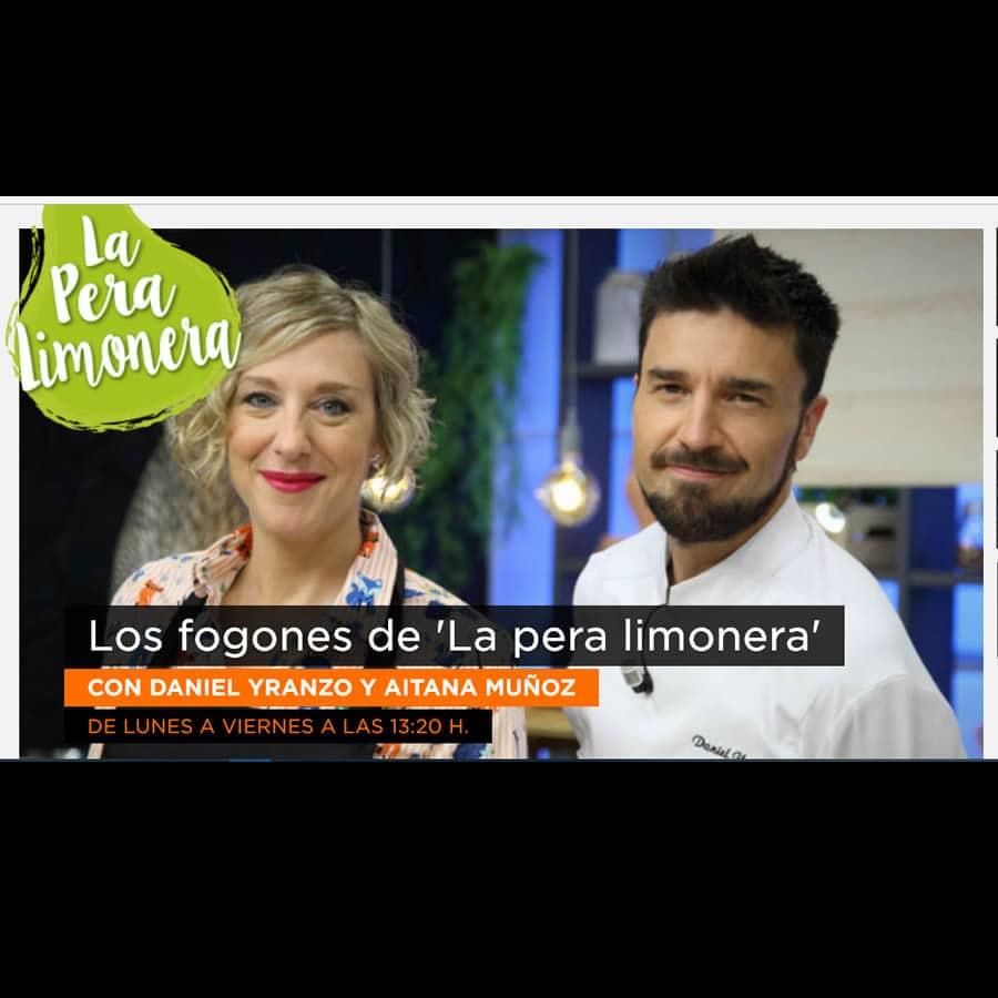 Aitana Muñoz y Daniel Yranzo presentadores de La pera limonoera