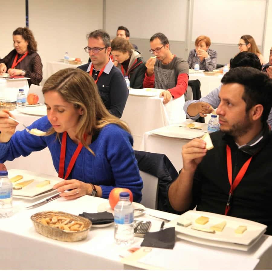 IV Congreso de Gastronomía y Salud. Catando quesos