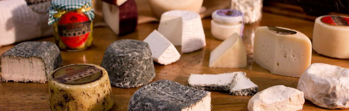 Disfrute de una gran variedad de nuestros quesos artesanos.