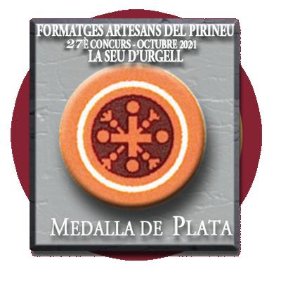 Medalla de Plata al Río Vero en la Fira de Sant Ermengol de la Seu de U´rgell en 2021.