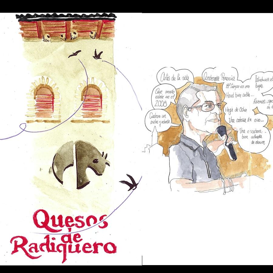 Dibujo de Alfredo Ugarte